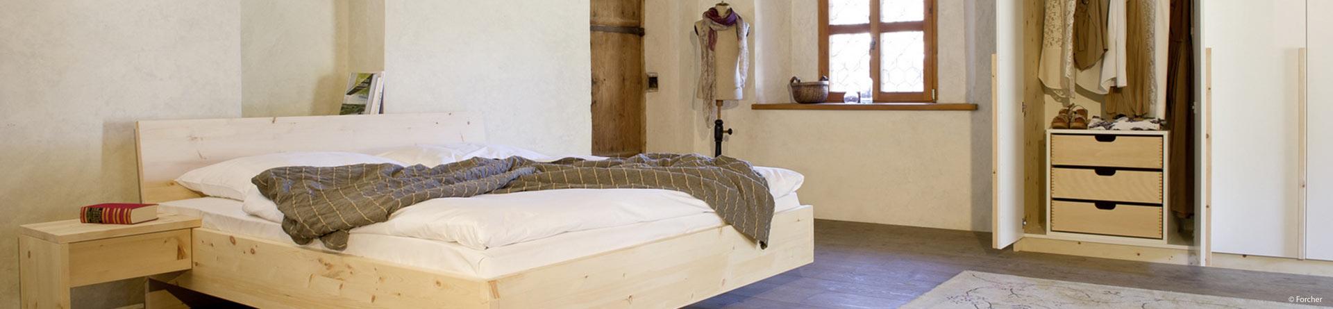 Schlafzimmer und begehbarer Kleiderschrank - Schreinerei ...
